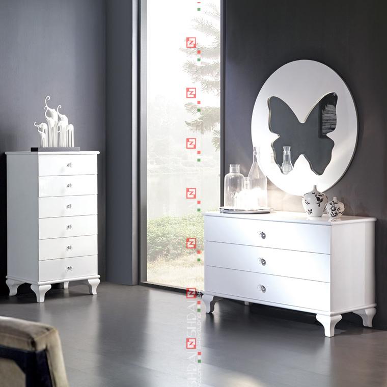 B903 modern divan bed design french style bedroom for Divan design