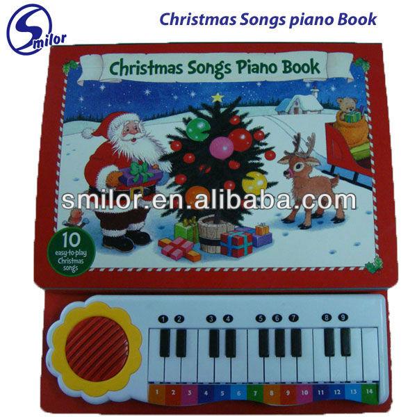 Christmas Songs Piano Book-10 Easy-to-play Christmas Songs - Buy ...