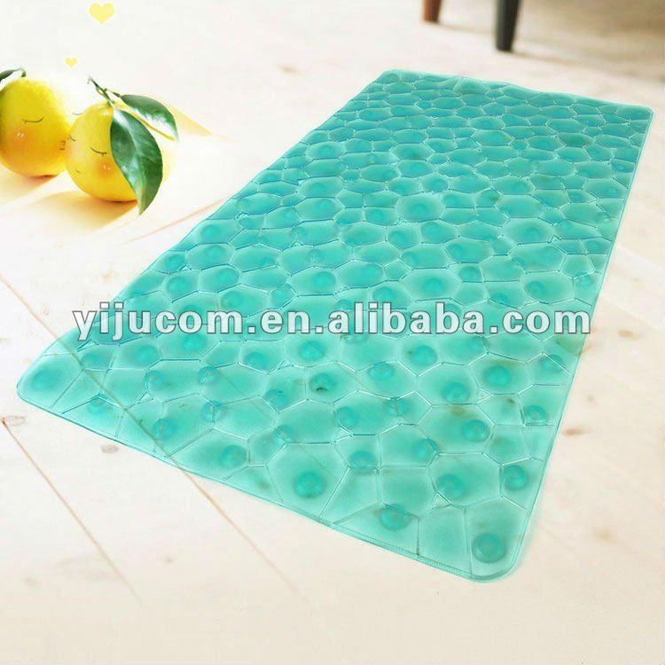 beautiful anti slip best curved bath mat