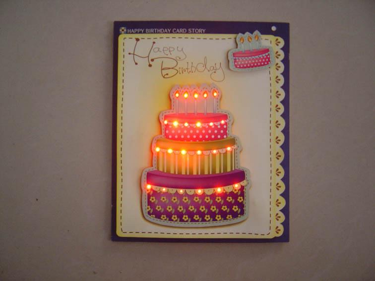 Led light up birthday greeting cards buy lighting