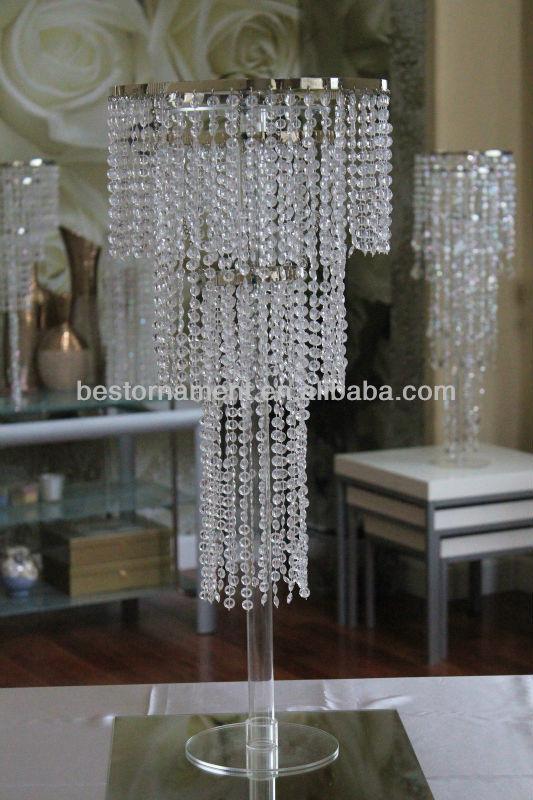 Inch wedding crystal centerpiece stand buy