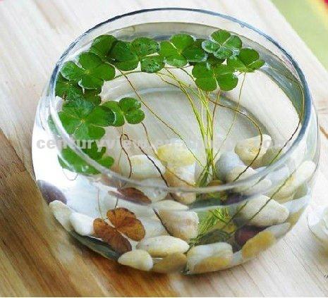Wholesale clear round glass fish bowl glass aquarium buy for Vase aquarium rond