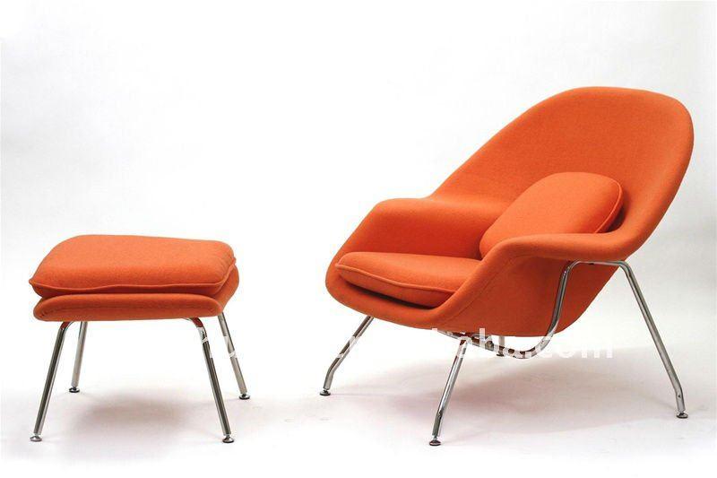 FAUTEUIL KNOLL SAARINEN Model Womb Chair