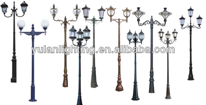 decorative garden light polegarden pole lighting fixture View