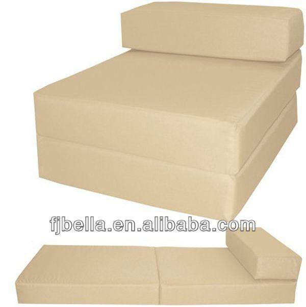 Block Foam Folding Chair Bed Z Guest Futon In Outdoor