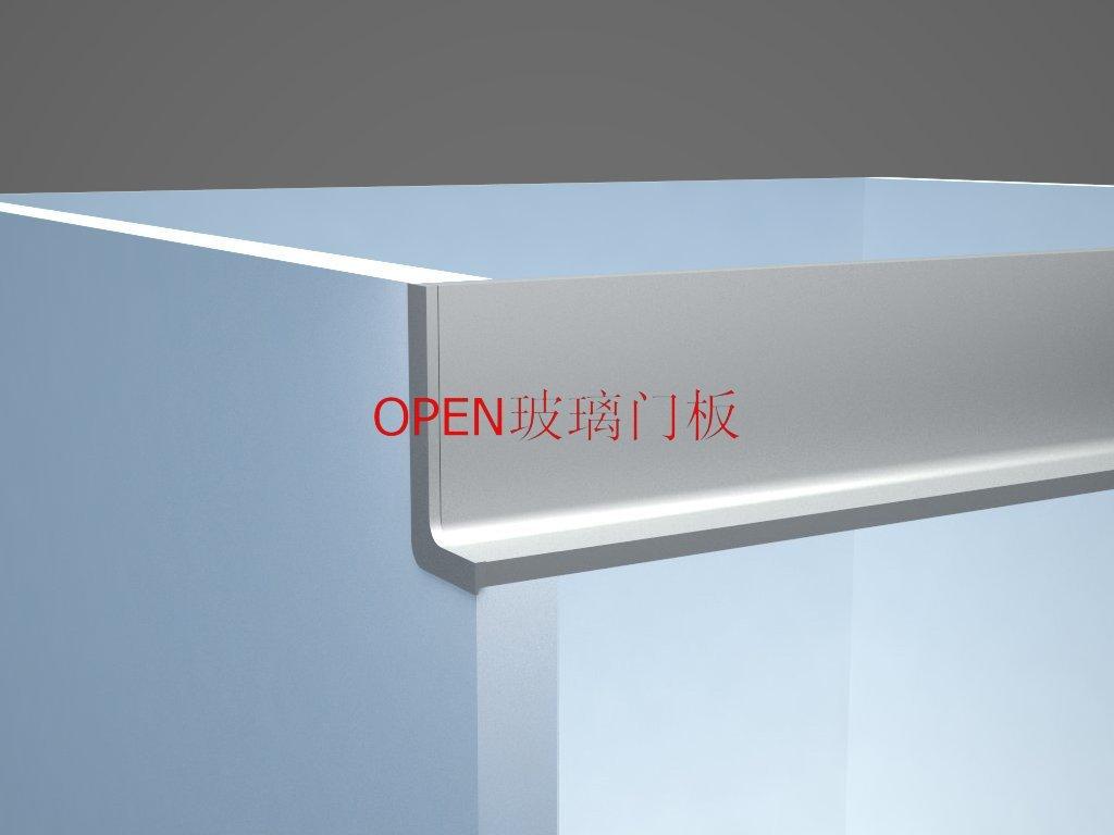 Perfil De Aluminio Para Mueble De Cocina (gl028) - Buy Perfil De ...