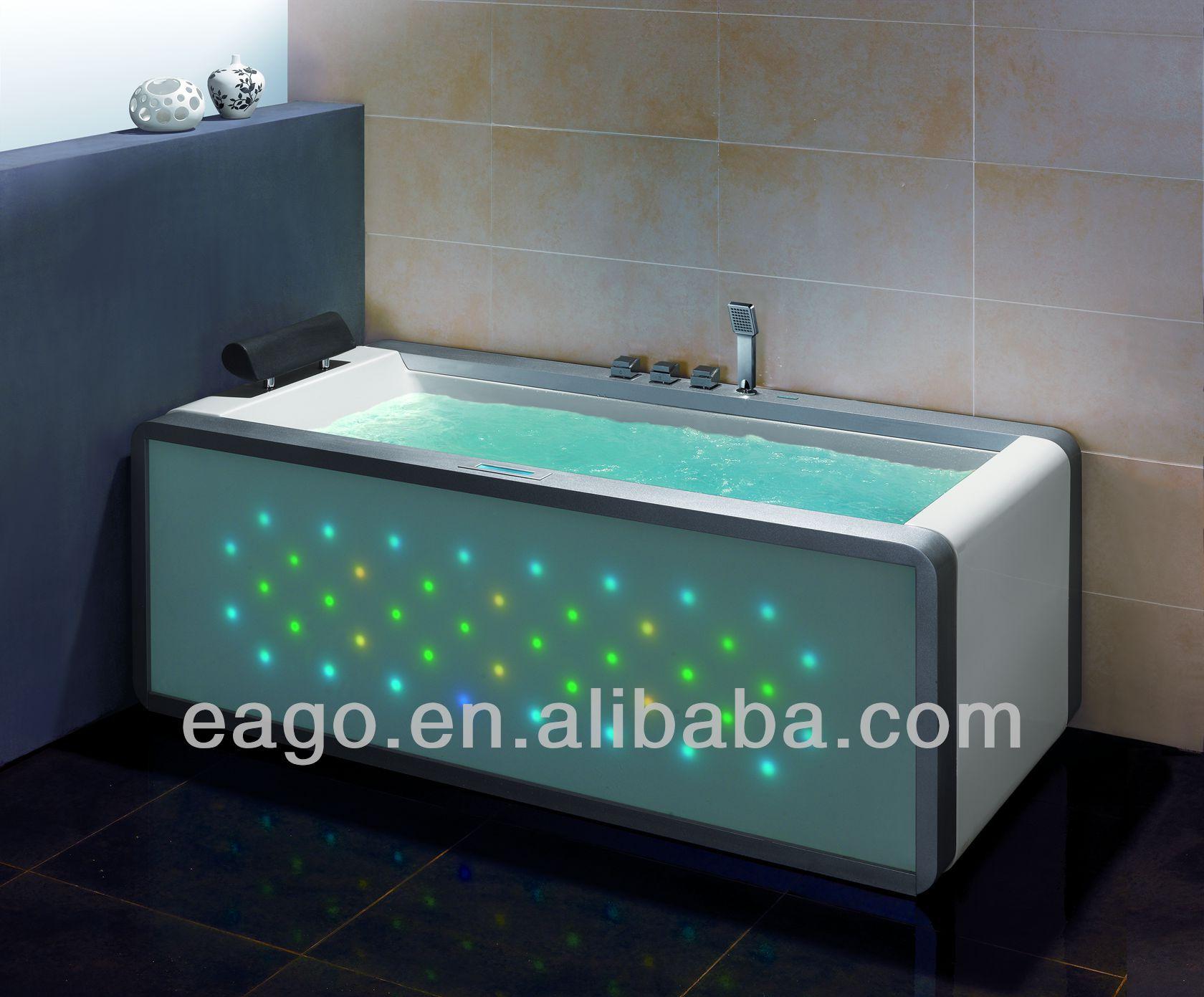 Eago Whirlpool Bathtub For One Person/massage Bathtub/unique Led ...