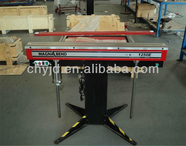 1250e Electromagnetic Manual Sheet Metal Bending Machine