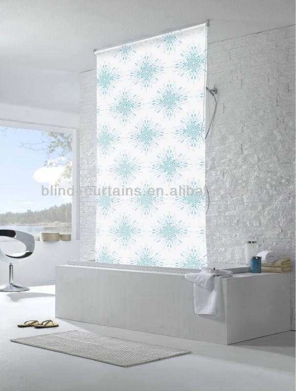 Trade Assurance Waterproof Shower Roller Blinds For Peva Material - Waterproof roller blind for bathroom for bathroom decor ideas