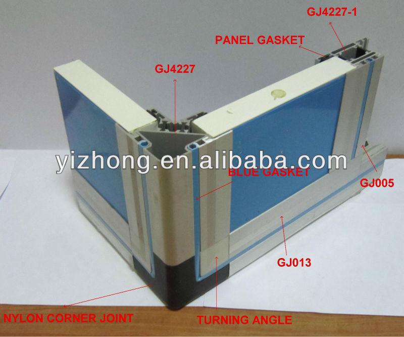 Air Handling Unit Aluminum Profile Gj4227 With Thermal Break - Buy Air  Handling Unit Aluminum Profile Gj4227 With Thermal Break,Aluminum  Profile,Air