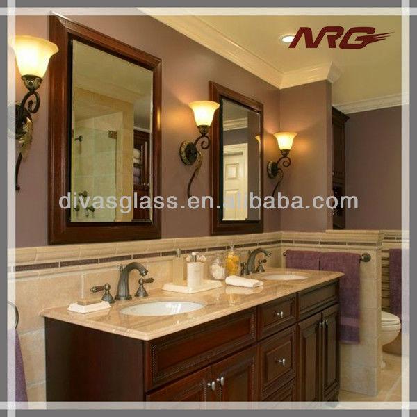 Hotel Baño Decorativo Espejos Biselados Borde Marcos - Buy Espejos ...