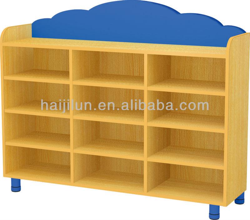 HAIJILUN best selling kids wooden toys cabinet, smart school ...