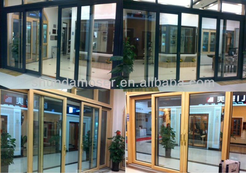 Terrasse Turen Holz Schiebetur Mit Alu Buy Terrassentur Fenster