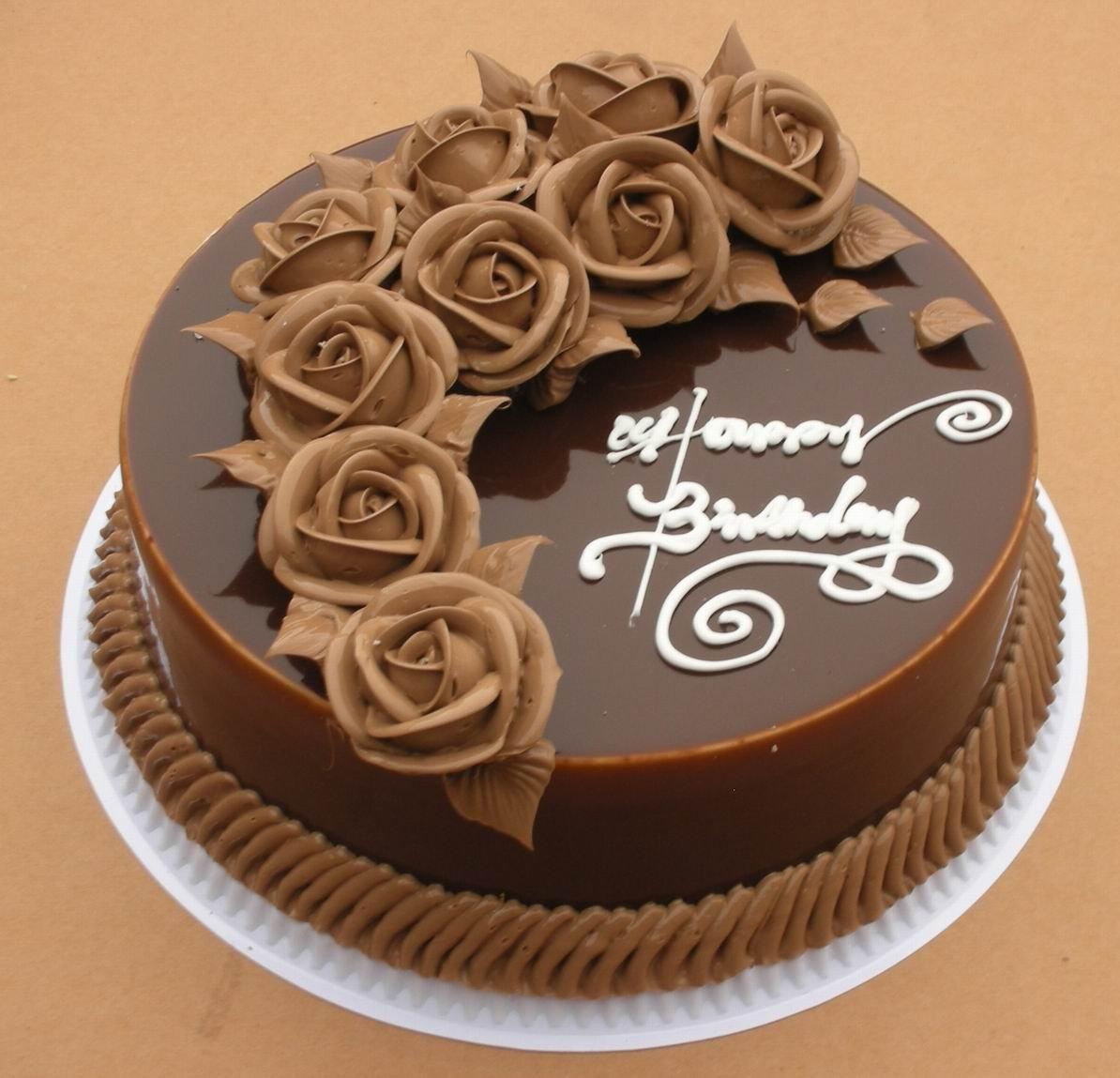 Plastic Birthday Cake Model