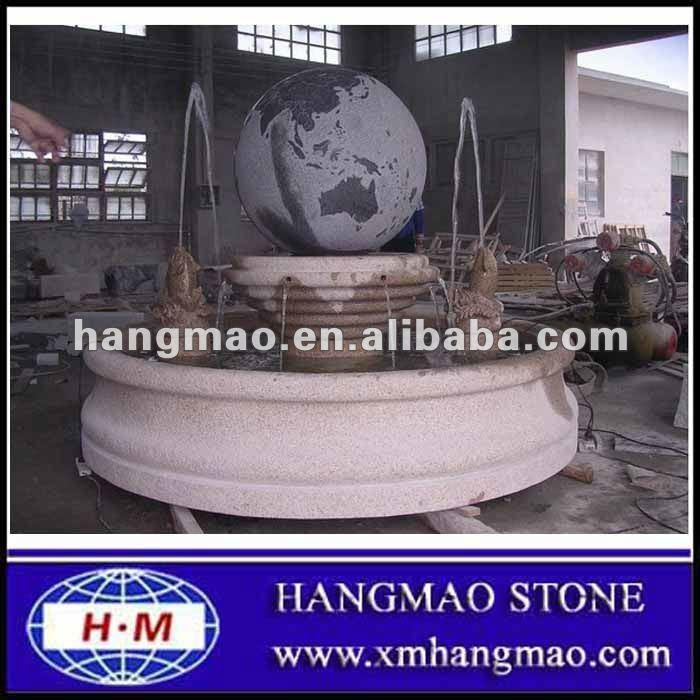 Innen Kugel Brunnen Innendekoration Brunnen