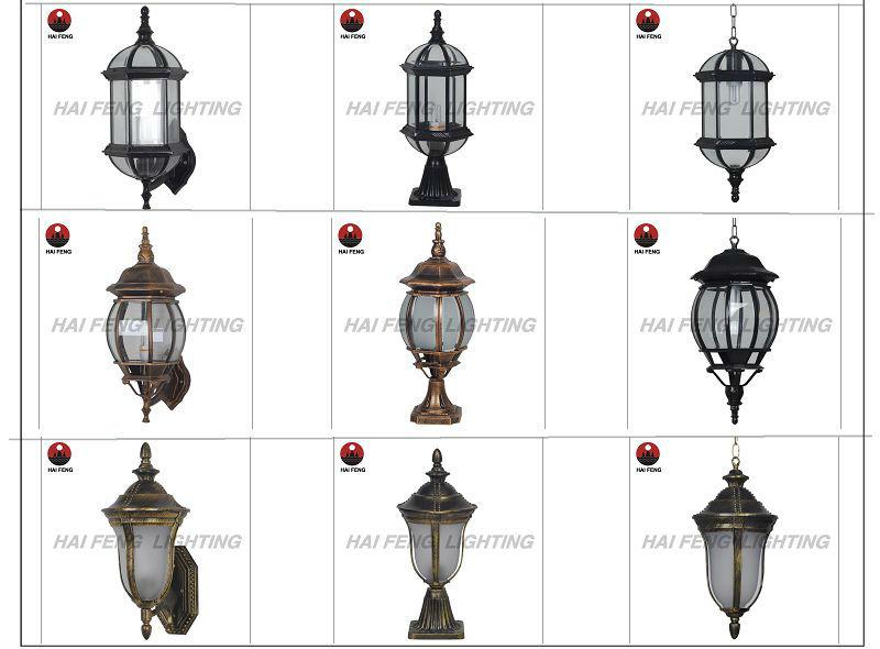 Modern garden lamp outdoor pillar light buy modern for Landscape pillar lighting