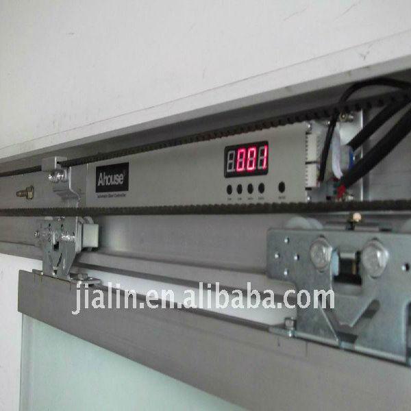 Automatic glass door sliding machine