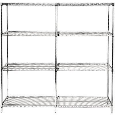Stainless Chrome Wire Shelving Metal Rack Metal Shelving Rack - Buy ...