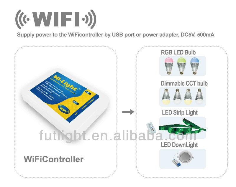 Ac86-265 V Op Afstand Bedienbare Wifi Led Lamp,Afstandsbediening ...