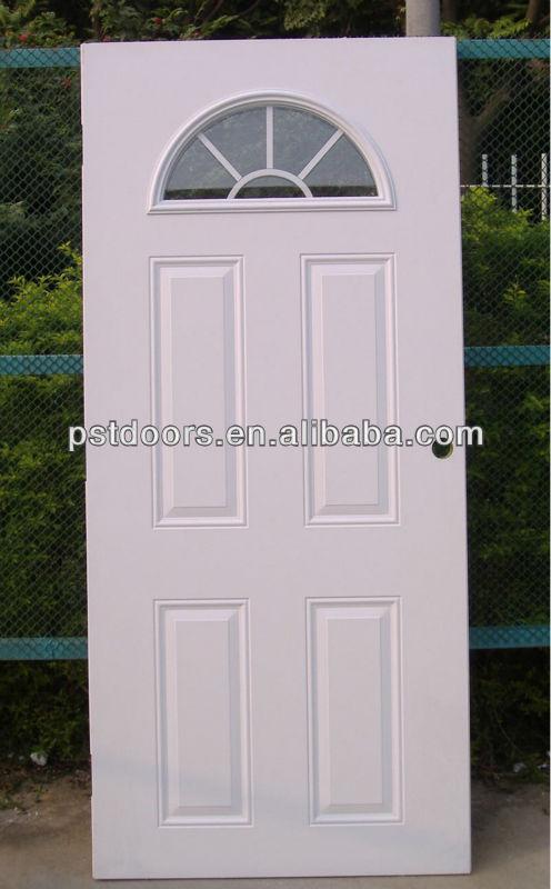 Sunburst steel entry door steel french door entrance door for Residential steel entry doors