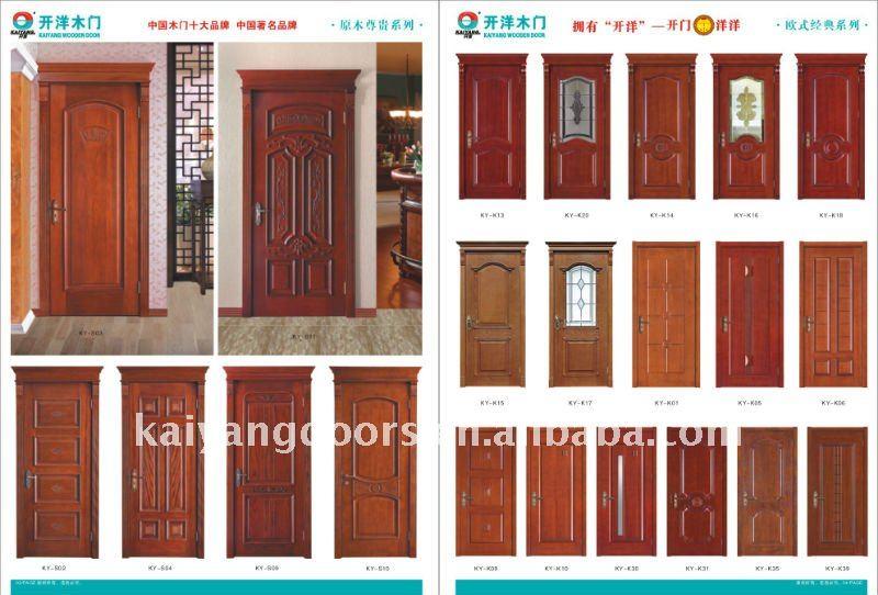 Interior Oak/teak Veneer Wooden Flush Door