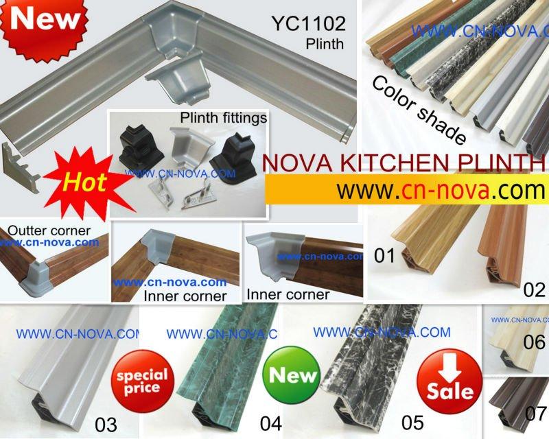 Kitchen Cabinet Plinths,Pvc Plinth,Wall Seal Profile,Kitchen ...