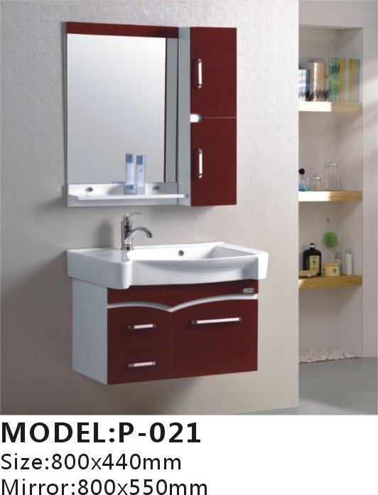 800x440mm pvc moderno gabinetes de ba o espejo lavabo - Banos actuales decoracion ...
