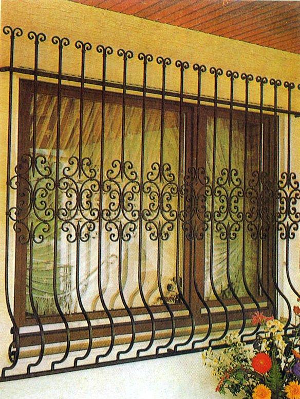 Simple Window Grill Designs: 2014 Top Sales Iron Windows Grill Design