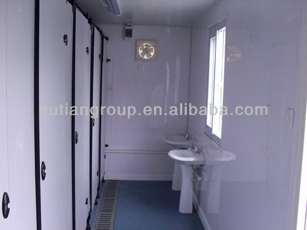 Contenitore di 20ft casa case modulari casa prefabbricata for Case modulari con suite di legge