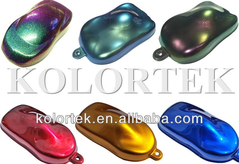 All Chameleon Car Paint Colors