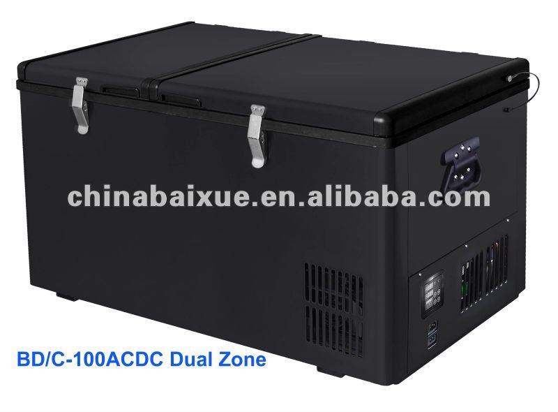 Auto Kühlschrank : Mini tragbare camping auto kühlschrank mit kühler kompressor für