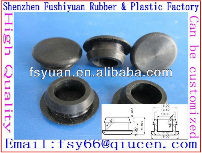 8mm silicone t shape plug conical silicone rubber plug