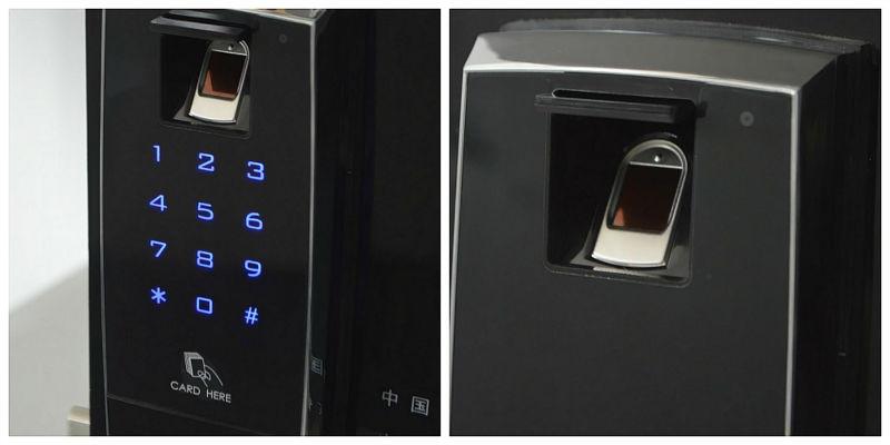 high security euro profile cylinder lock fingerprint door lock imported china pop euro door