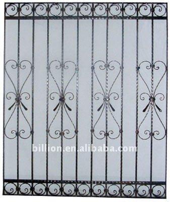 Decorative Wrought Iron Windows Grill Design