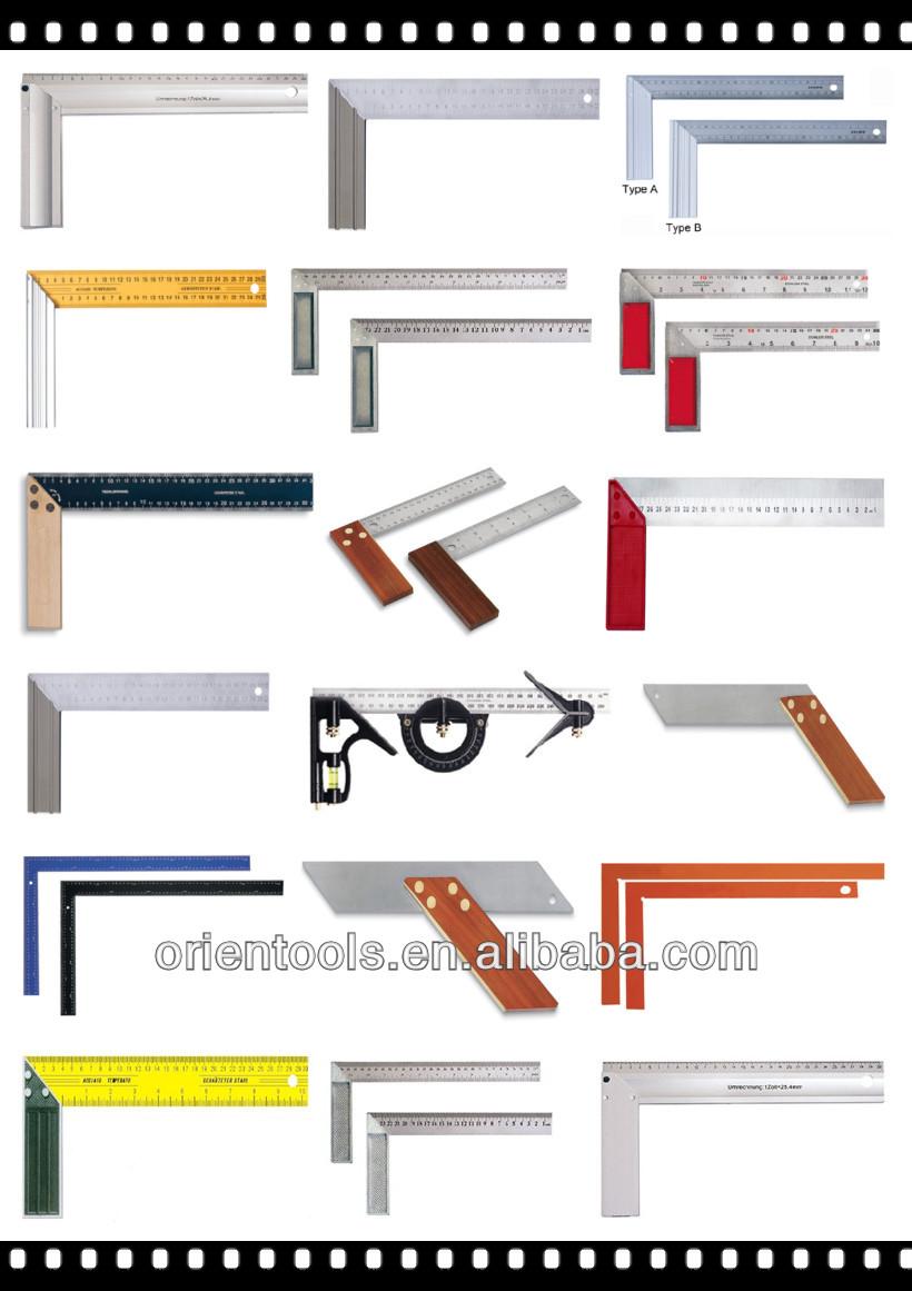 L-square Angle Ruler 90 Degree Aluminium Measuring Ruler