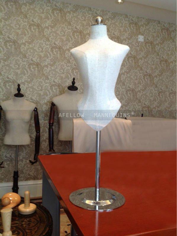 Mini Mannequin Mini Dress Form Small Size Metal Base Clothing ...