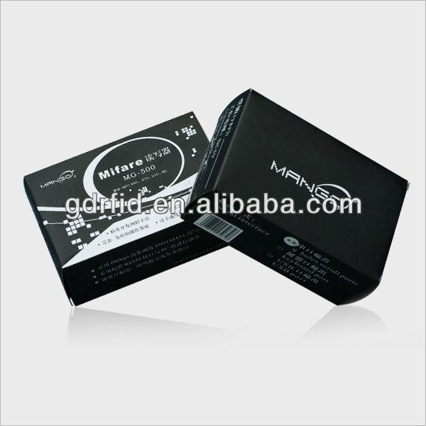 Leitor de chip Leitor de Mesa USB Para O sistema de controle LF/HF RFID Leitor de Cartão