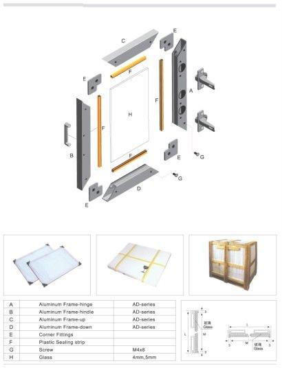 Aluminum Cabinet Door Frames Image collections - doors design modern