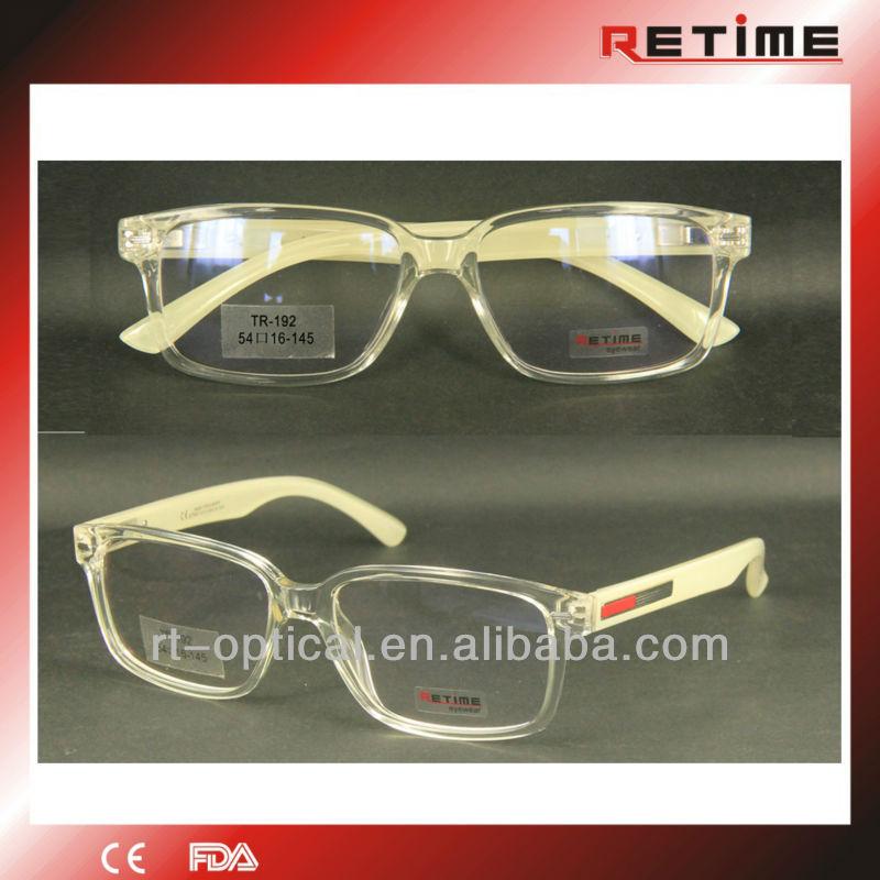 Luz Mitad-borde Tr90 Montura De Gafas De Plástico (tr-167) - Buy ...