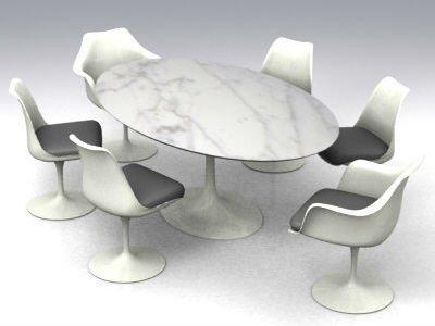 Tavoli ovali moderni tavoli pieghevoli - Epierre