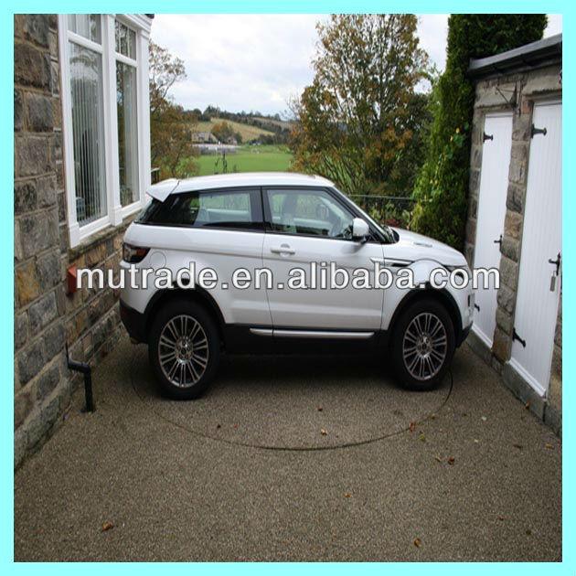 Automobiles motor hydraulic drive mode car turning for Large motorized rotating platform