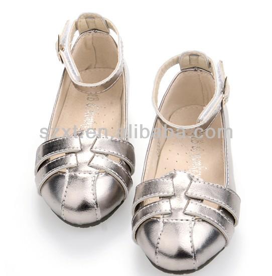 Latest Little Girls Fancy Sandal Cheap Shoes Young Girls 2014 ...