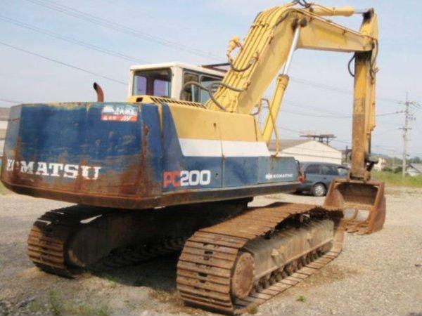 Used Komatsu Excavator Pc200-5 - Buy Excavator,Komatsu Excavator,Komatsu  Product on Alibaba com