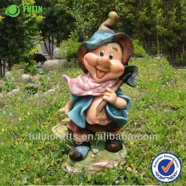 Handmade custom yard gnome resin elf figures buy elf - Figurine de jardin ...