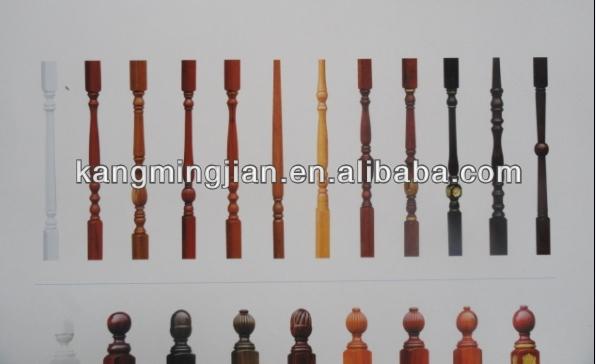 Verschillende stijlen van hete verkopen houten handgrepen hoge kwaliteit houten trapleuningen - Houten trap monteer ...