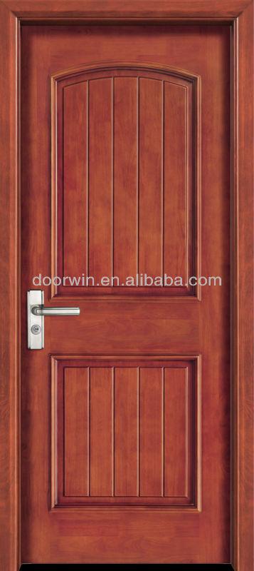 Expensive glass insert solid wood door buy wood door for Latest single door design