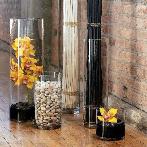 Decorativi tavolo alto a buon mercato vasi di vetro for Vasi decorativi da interno