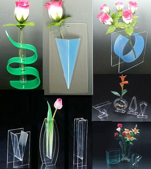 Glass Vase Christmas Centerpieces Tall Acrylic Vases Clear