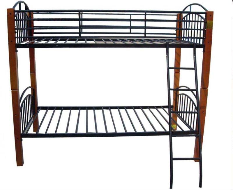 Single Double Metal Bunk Beds Steel Bunk Beds No Screw Metal Frame
