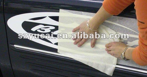 Customized transfer tape letter cutting die cut sticker